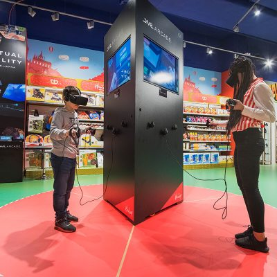 Virtual Reality herna - Hamleys